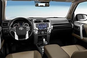 Toyota 4Runner Interior Technology