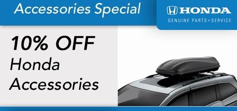 Honda Accessory Special