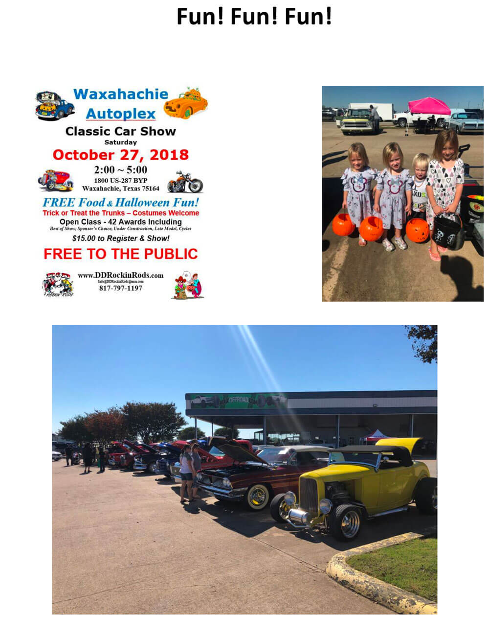 Waxahachie Autoplex Classic Car Show
