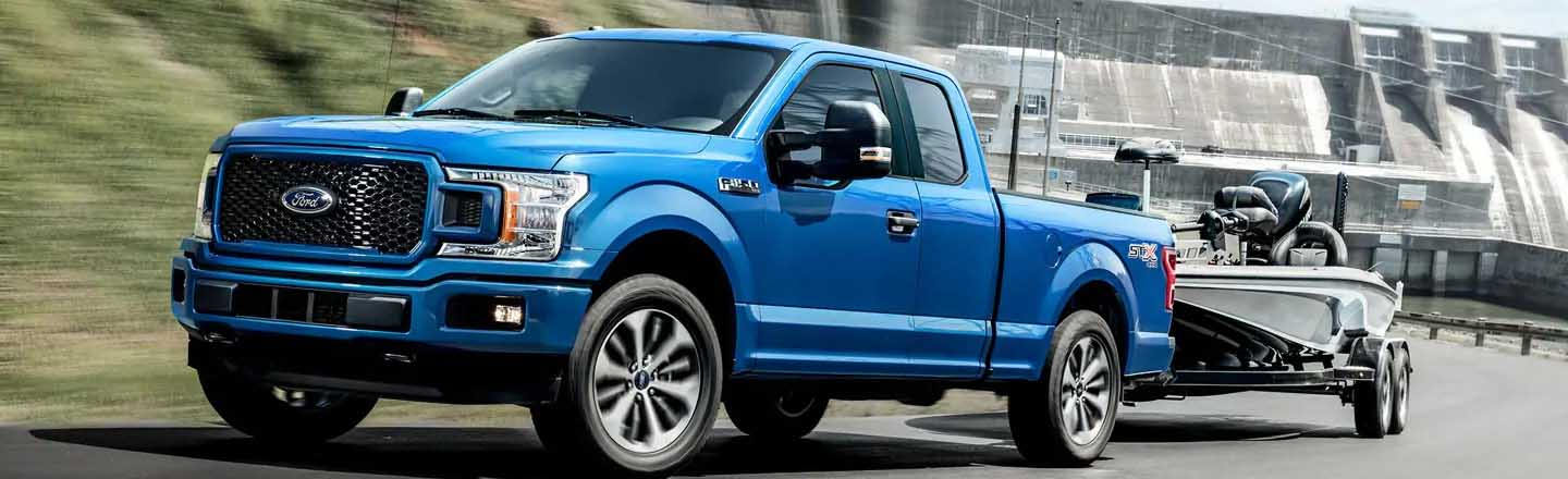 Finance The New 2019 Ford F-150 Pickup Truck In Anacortes, WA
