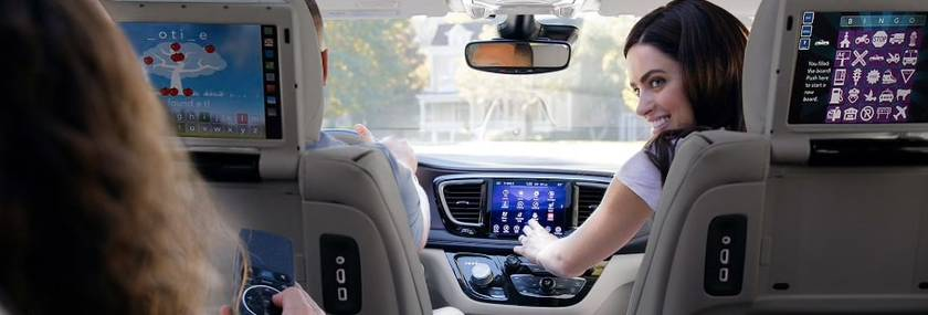 2019 chrysler pacifica technology