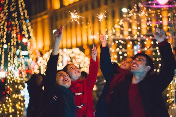 Christmas tree lighting In Coopersburg, PA