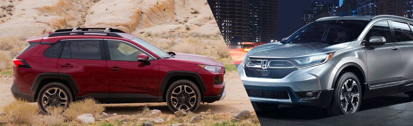 Explore The Differences Between The 2019 Toyota RAV4 & Honda CR-V