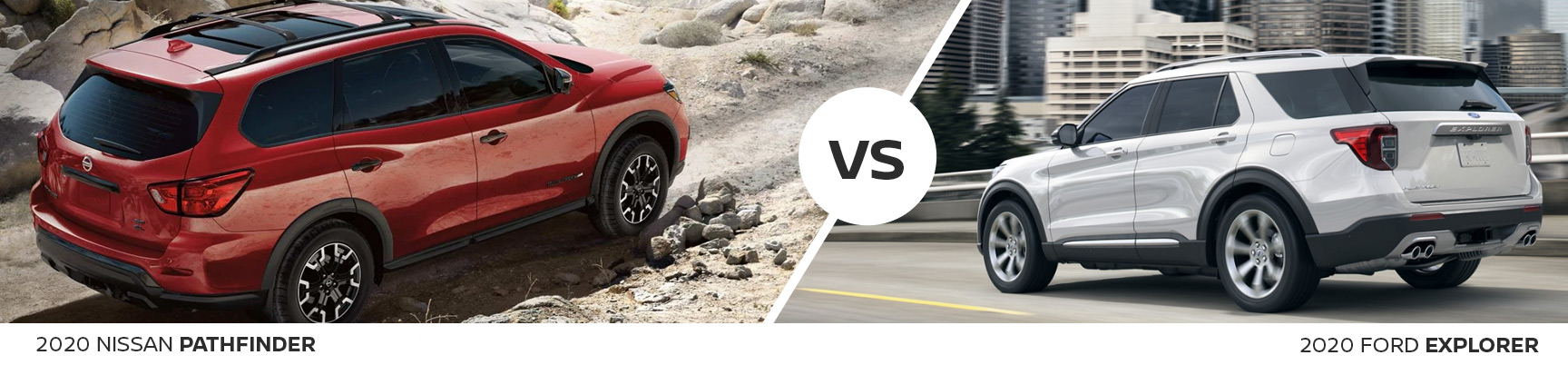 Crossover SUV Comparison: 2020 Nissan Pathfinder Vs 2020 Ford Explorer