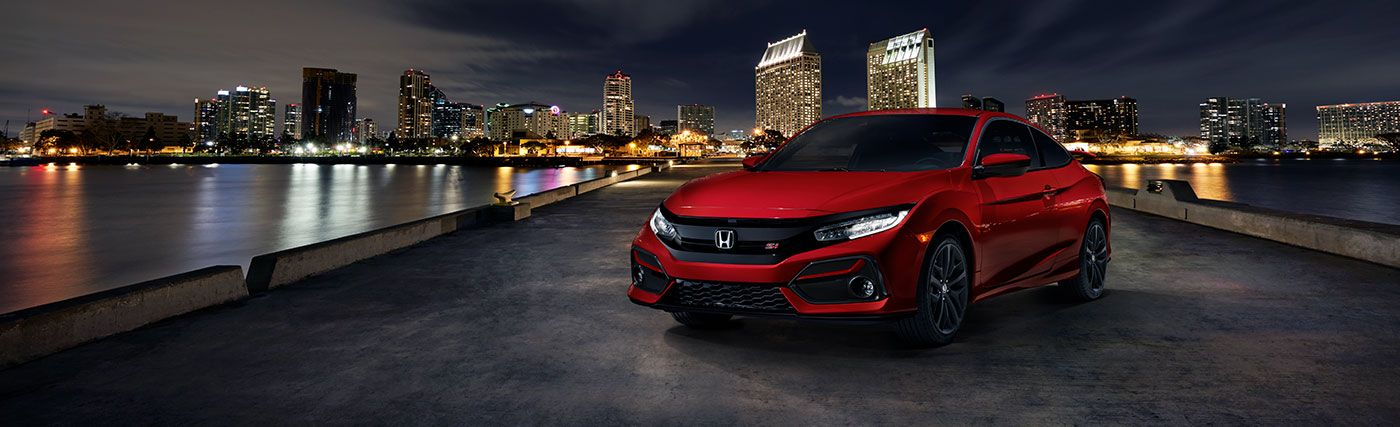 The 2020 Honda Civic Si Coupe is available at our Honda dealership in Fort Myers, FL.