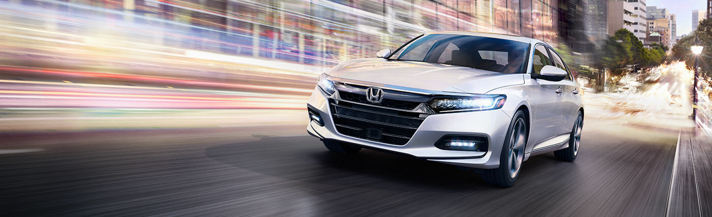 Exterior of the 2020 Honda Accord - available at our Honda dealership near Fort Myers, FL.
