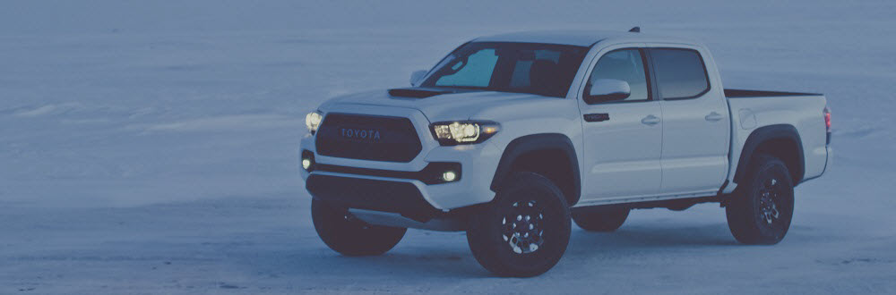Toyota Tacoma White
