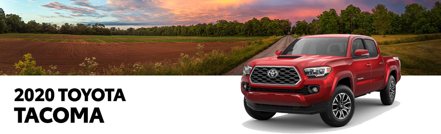The 2020 Toyota Tacoma Is Now Available At Our Paducah, KY, Car Dealer