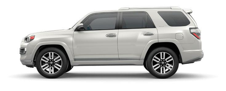 white 2020 Toyota 4Runner
