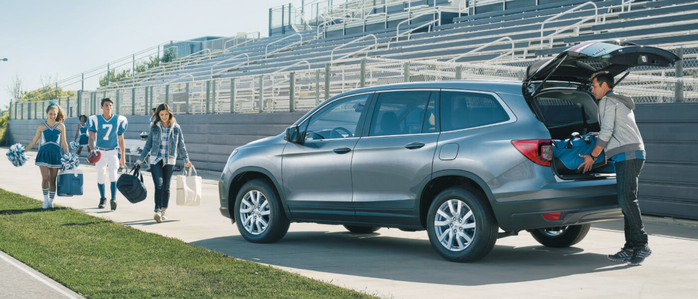 2020 Honda Pilot on field