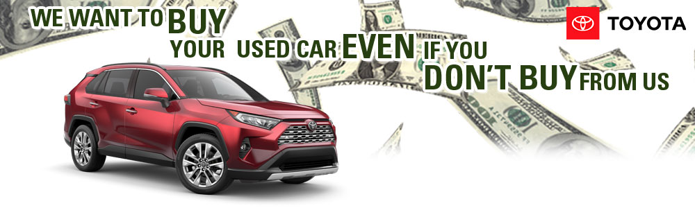Sell Your Used Car At Parks Toyota In DeLand, FL