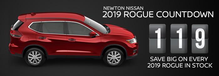 Nissan Rogue Countdown