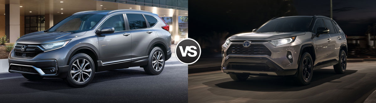 2020 Honda CR-V vs 2020 Toyota RAV4