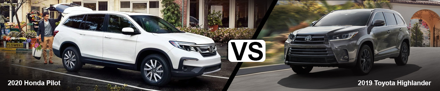 See How The 2020 Honda Pilot Compares The 2019 Toyota Highlander
