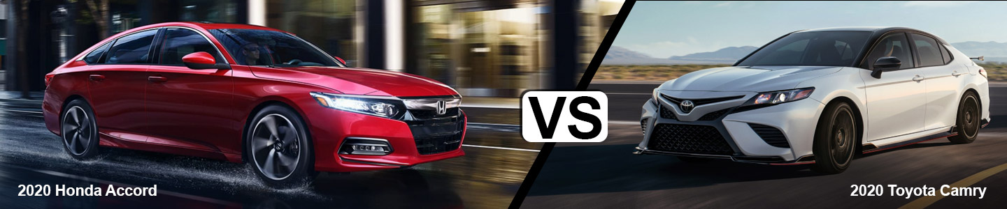 Comparing The 2020 Honda Accord Vs. The Toyota Camry In Bellevue