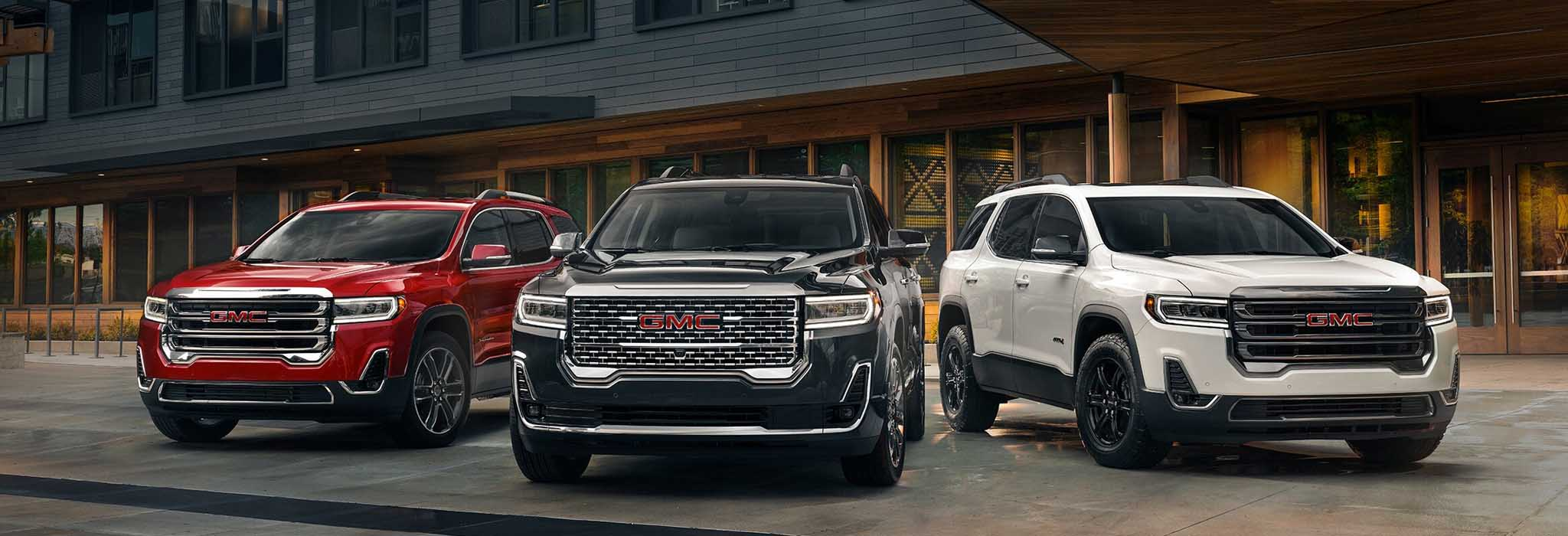 Drive the Redesigned 2020 GMC Acadia SUV in New Iberia, Louisiana