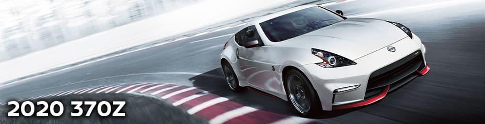 2020 Nissan 370z Racing Around Track