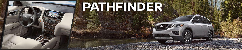 2020 Nissan Pathfinder in the woods, interior