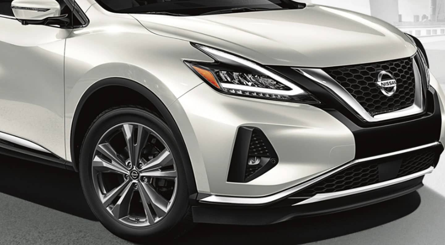 Front view of 2020 Nissan Murano in Vero Beach, FL