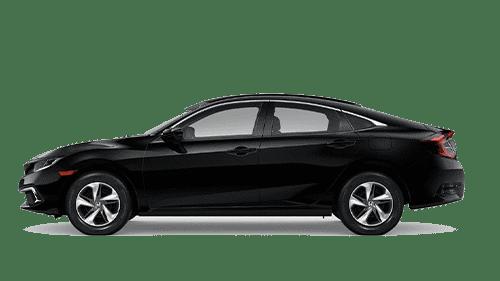 Black 2019 Honda Civic Sedan Jellybean
