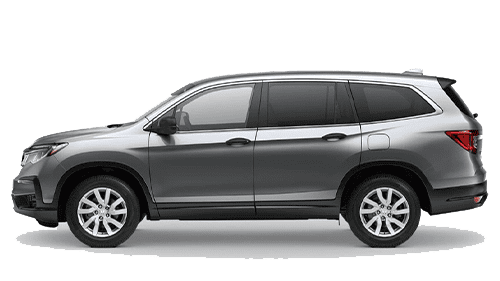 Silver 2020 Honda Pilot Jellybean