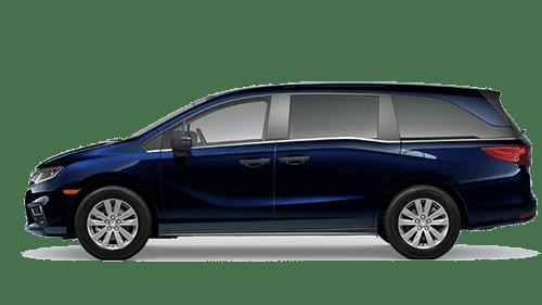 Blue 2020 Honda Odyssey Jellybean