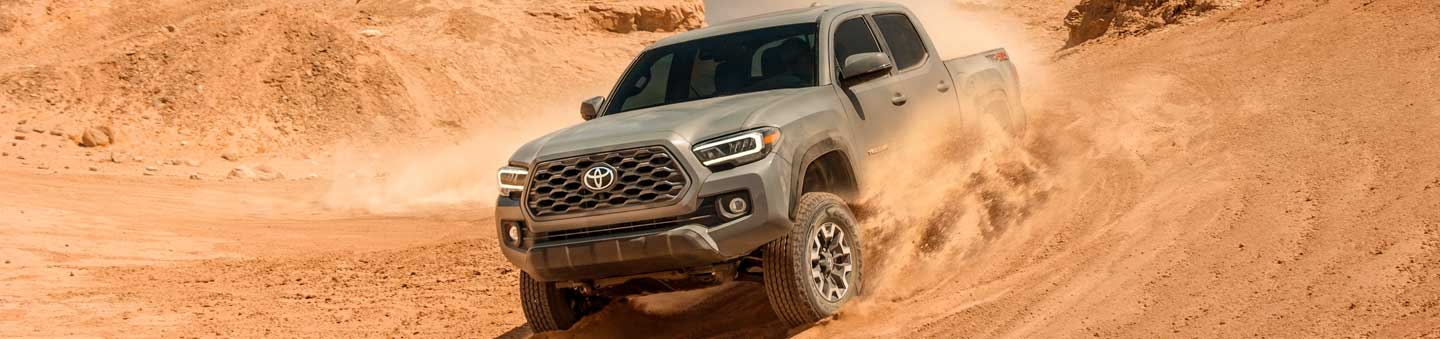 Explore The New 2020 Toyota Tacoma Pickup Truck In Waycross, Georgia