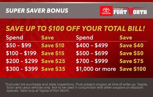 Super Saver Bonus