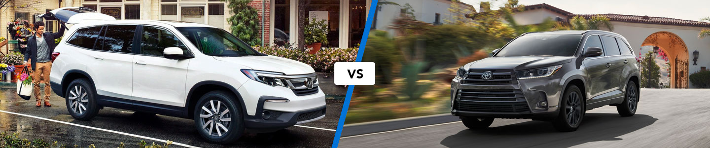 Learn How the 2020 Honda Pilot Compares to the Toyota Highlander