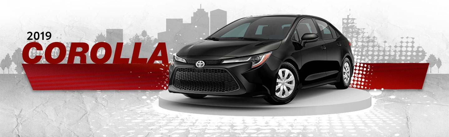 2019 toyota corolla black exterior at carl hogan toyota