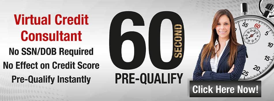 virtual credit consulatnt 60 second pre-qualify