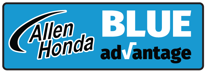 Allen Honda College Station, TX Blue Advantage Badge