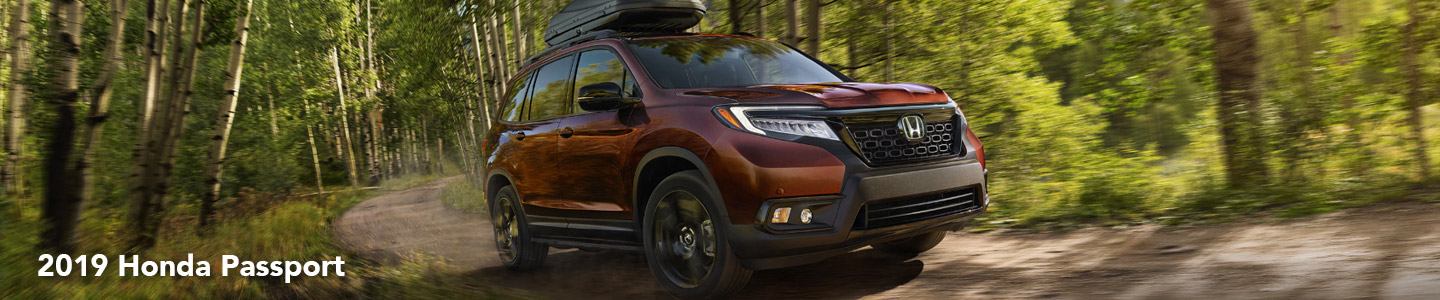 Take On New Adventures With A 2019 Passport From Our Honda Dealer
