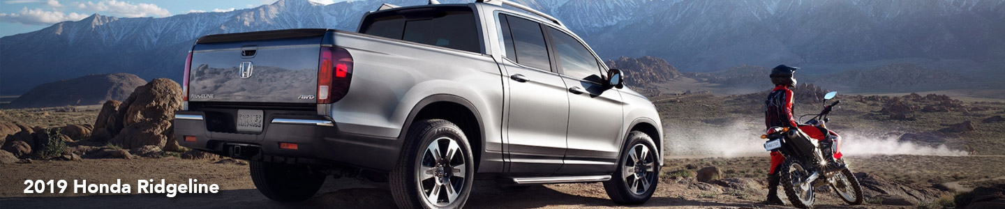 Step Up To A Rugged 2019 Honda Ridgeline At Our Paris, TX, Auto Dealer