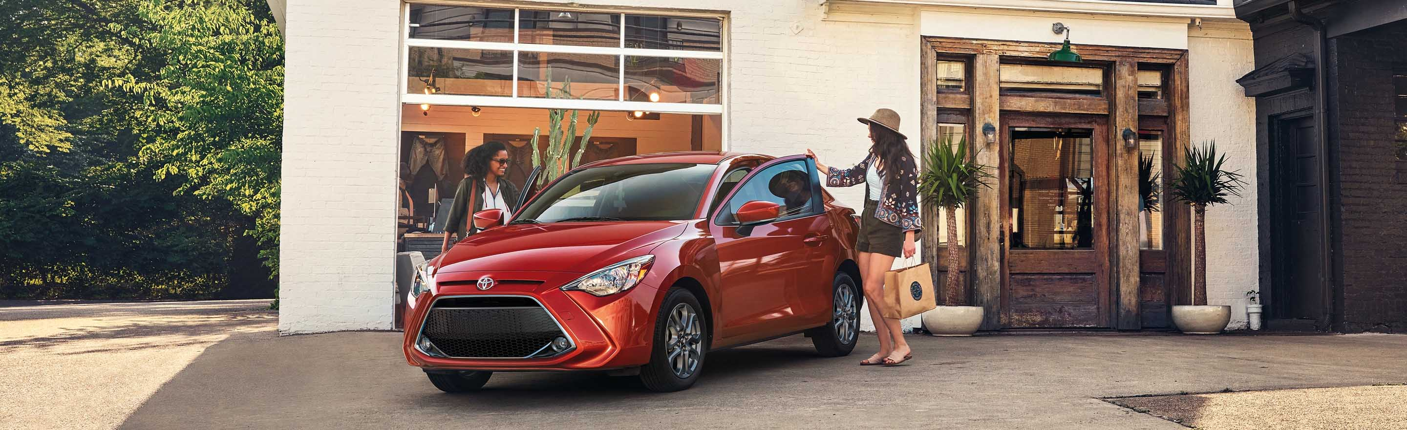 2020 Toyota Yaris Hatchback at Ken Ganley Toyota, Near Pittsburgh, PA
