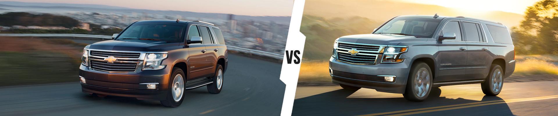 Chevrolet SUV Comparison: 2020 Chevrolet Tahoe Versus 2020 Chevrolet Suburban