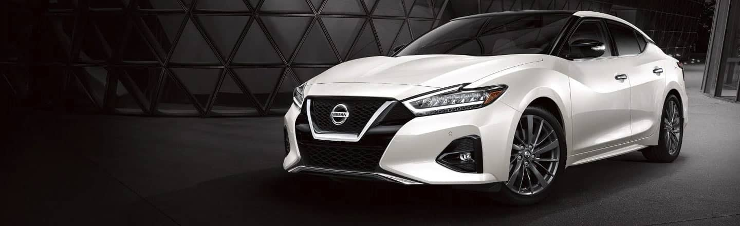 The 2020 Nissan Maxima in White