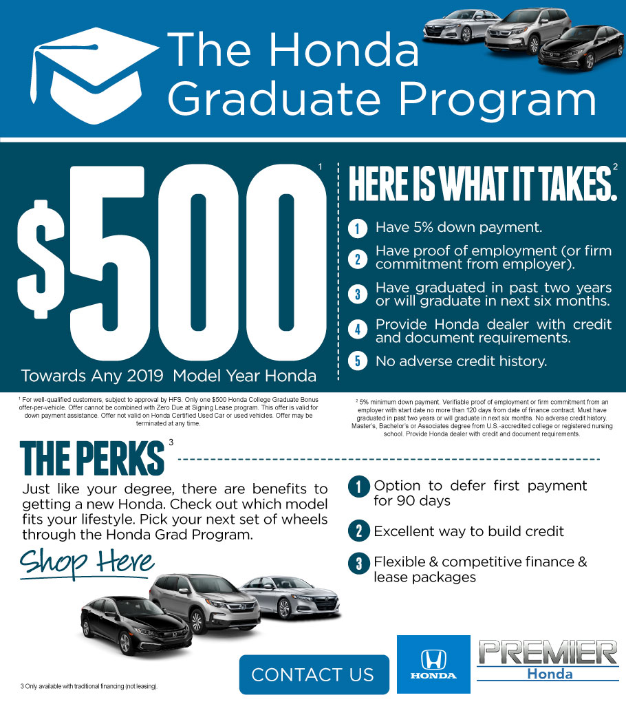 Honda Graduate Program Available in New Orleans, Louisiana
