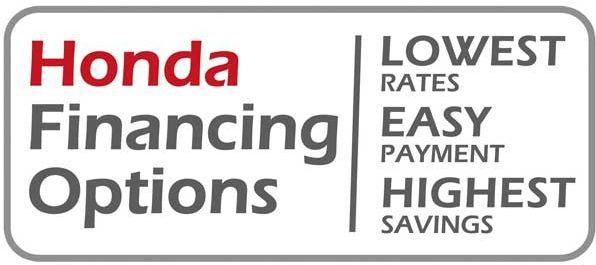 honda financing options