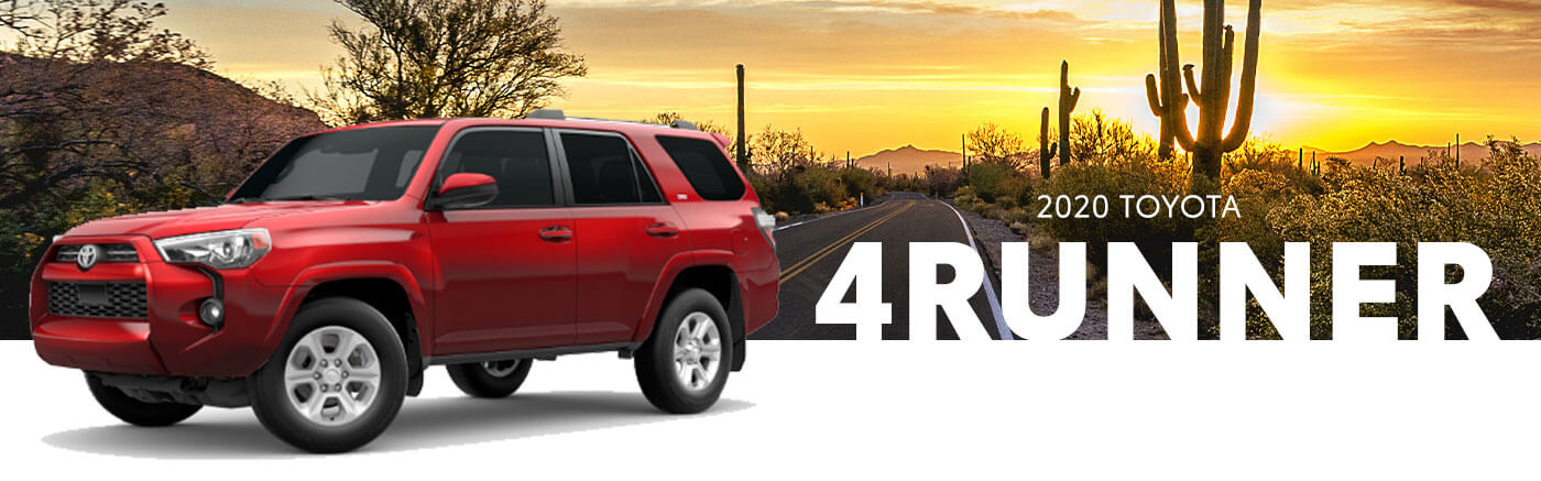 RED 2020 Toyota 4Runner