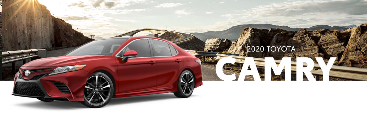 red 2020 toyota camry