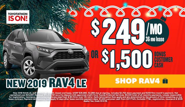 Toyotathon Offer RAV4