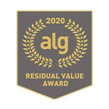 ALG Midsize Utility Vehicle 3rd Row Seating Residual Value Award