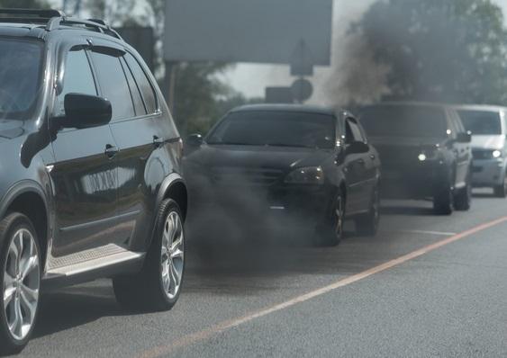Dark Exhaust Smoke