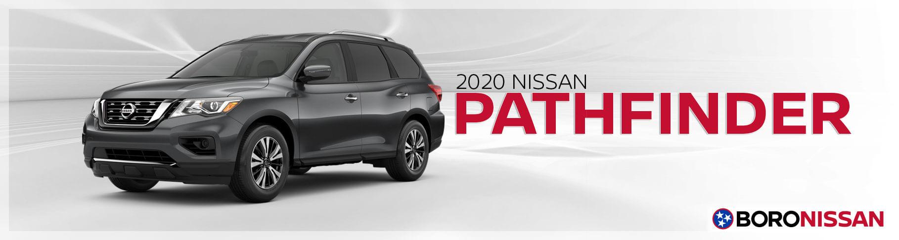 The 2020 Nissan Pathfinder