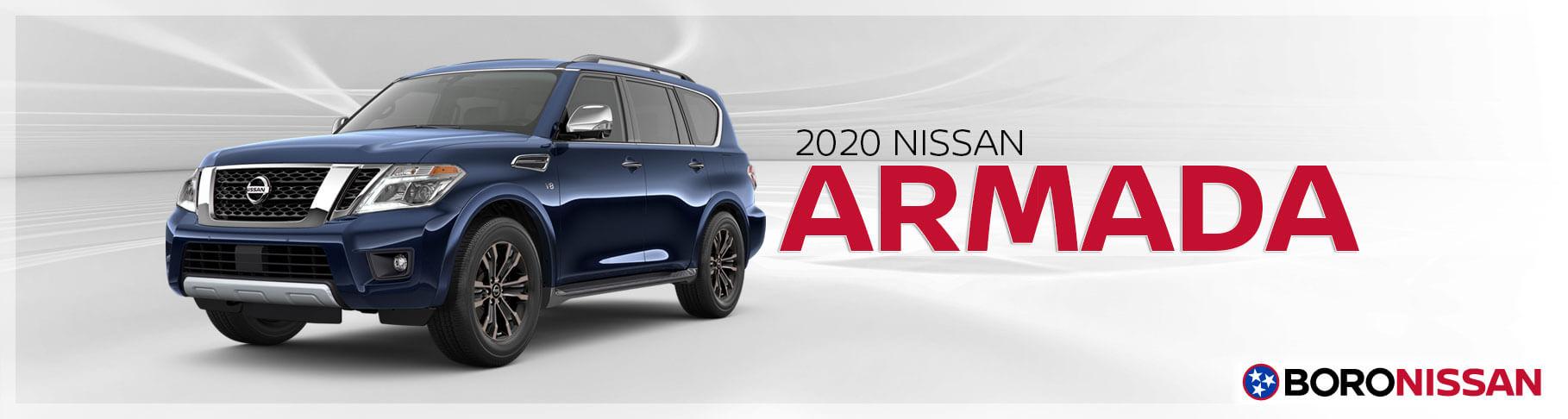 The New 2020 Nissan Armada