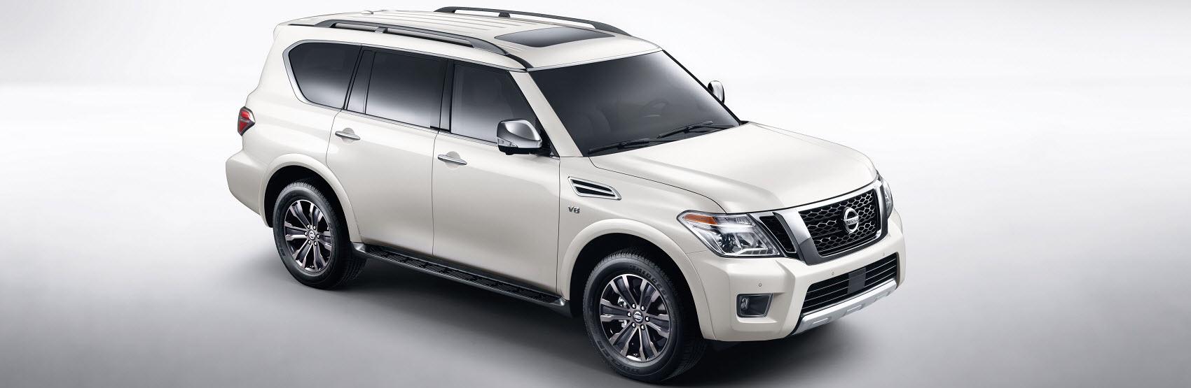 Nissan Armada White