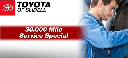 30,000 Mile Service Special