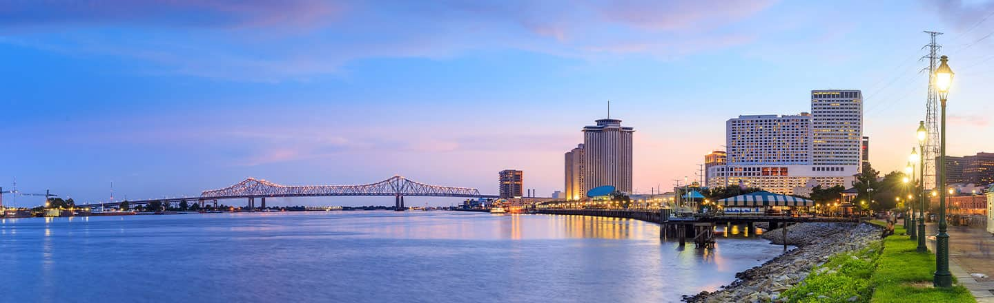 Downtown New Orleans Louisiana