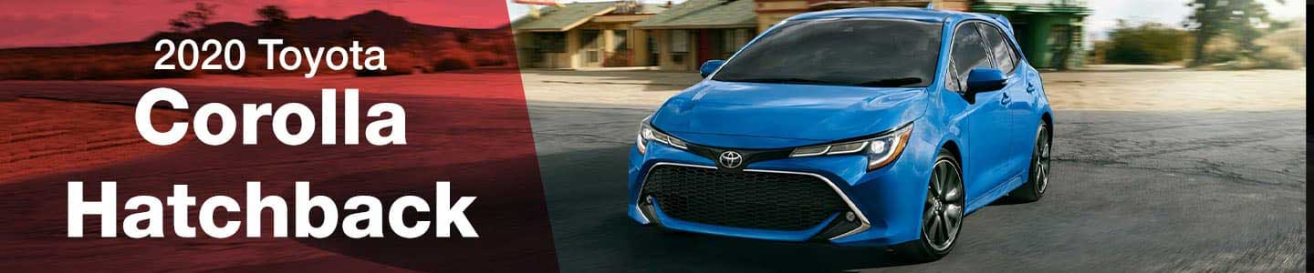 Drive the 2020 Toyota Corolla Hatchback in Hermiston, near Pendleton, OR